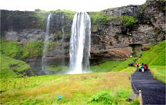 Seljalandsfoss, Iceland (Aad P.) Tags: iceland photographerstrip holidays lava volcano waterfall spectacular curiosity seljalandsfoss eyjafjallajökull