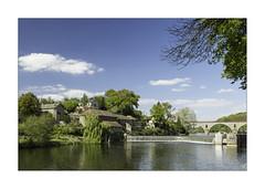 Montflours (boisnardg) Tags: france mayenne paysdelaloire lamayenne rivière ecluses