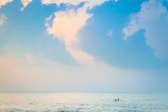 Grandeur of it all (Srini GS) Tags: chennai marina beach sea bayofbengal mychennai boat shores birds