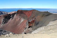Red Crater (J_Piks) Tags: newzealand nz northisland mountains landscape scenery ngauruhoe mountdoom tongariro volcano red crater