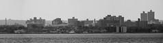 """""""The Bronx"""", Close Up - 5 Photo Stitched Panoramic; photographed from Saddle Rock, New York (hogophotoNY) Tags: hogophoto greatneck newyork unitedstates us thebronx bronx telephoto nikon nikonp900 p900 usa hogo saddlerock saddlerockny nystate water pano stitched panoramic stitchedpanoramic"""