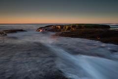 North Newport Sunrise 1 (RoosterMan64) Tags: australia longexposure nsw northnewport northernbeaches rockshelf rocks seascape sunrise sydney
