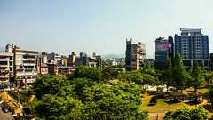 #wonju #south #korea #collegetown (wheres arthur) Tags: korea wonju south collegetown landscape moutains park view