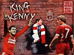 Kenny Dalglish MBE (redcard_shark) Tags: kenny dalglish liverpool lfc football 7 player manager mbe