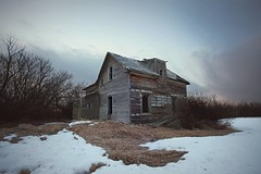 I Need to Get Out More. (P3ddl3) Tags: sping once was home abandoned alberta farm farmhouse decay ruralex old homestead canada