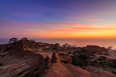 Broken hill sunset (binzhongli) Tags: sunset brokenhill clouds sandiego torreypines seascape landscape california coast