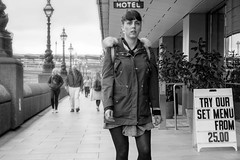 19/52 (2017): Set Menu (Public Typeface) (Sean Hartwell Photography) Tags: typeface letters sign signage canon760d london southbank thames riverthames street candid girl women menu week192017 52weeksthe2017edition weekstartingsundaymay72017