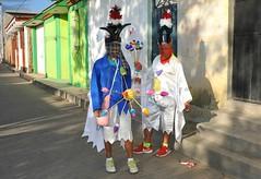 Zaachila Carnaval Oaxaca Mexico (Ilhuicamina) Tags: mexican fiestas carnaval zaachila oaxaca zapotec sanpablolaraya costumes boys