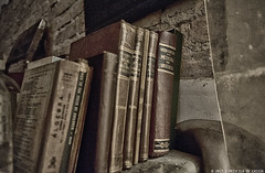 Forgotten Places #1 (Priscila de Cássia) Tags: abandoned books hospital hdr rusty wall decay dust sinister nikon d700 prisciladecassia sao paulo brazil forgottenplaces forgotten abandon