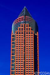 FRANKFURT (01dgn) Tags: messeturm frankfurt frankfurtammain skyline sky colors city germany almanya deutschland hessen ffm