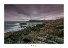 The Lighthouse... (Canconio59) Tags: ermita faromeiras largasexposiciones otraspalabrasclave sea coast galicia españa spain nubes clouds landscape longexposition