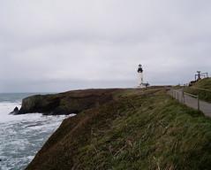 lighthouse (amy c. hill) Tags: oregon lighthouse portra400 mediumformatfilm coast