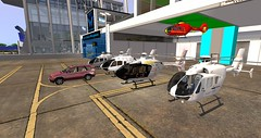 My Newest Kousara's Charters Fleet. EC-135. from past to Present. (anukmaneewong1260) Tags: secondlife ec135 eurocopter helicopter aviation aircraft sw aerofly shergood past present future hangar airport outdoor bmw x5 e53 baiern alpenjager gemc secondlife:region=westbury secondlife:parcel=flyingburritobrothersunityairportelev153 secondlife:x=196 secondlife:y=83 secondlife:z=151