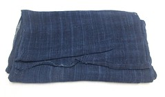 Hand Loomed Hemp (FurugiStar) Tags: hemp linen fabric textile asa asian furugistar panel rough weave blue indigo dye natural botanical