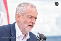 For the many, Not the few (alun.disley@ntlworld.com) Tags: jeremycorbyn labourparty campaigntrail politics people portrait politician wirral westkirby