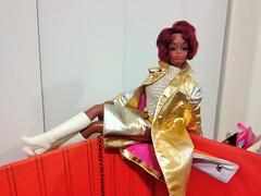 FOR MARIA! (ModBarbieLover) Tags: christie tnt barbie 1967 1969 mod doll intrigue metallic gold