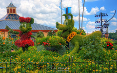 Floral Minnie Mouse & Pluto - Disney's Epcot (J.L. Ramsaur Photography) Tags: jlrphotography nikond7200 nikon d7200 photography photo lakebuenavistafl centralflorida orangecounty florida 2016 engineerswithcameras epcot disney'sepcot photographyforgod thesouth southernphotography screamofthephotographer ibeauty jlramsaurphotography photograph pic waltdisneyworld disney disneyworld pluto minniemouse waltdisney happiestplaceonearth wheredreamscometrue magical tennesseephotographer imagineering disneycharacter waltdisneyworldresort disneyimagineering floralminniemousepluto floralminniemouse floralpluto hdr worldhdr hdraddicted bracketed photomatix hdrphotomatix hdrvillage hdrworlds hdrimaging hdrrighthererightnow bluesky deepbluesky beautifulsky whiteclouds clouds sky skyabove allskyandclouds nature outdoors god'sartwork nature'spaintbrush flowers yellowflower redflowers flower floral
