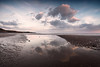 St Bees sunset 2- (Alf Branch) Tags: beach sea seaside seawaves seascape sunset stbees olympus olympusomdem5mkii zuiko ziuko918mmf4056ed irishsea westcumbria water cumbria clouds refelections reflection