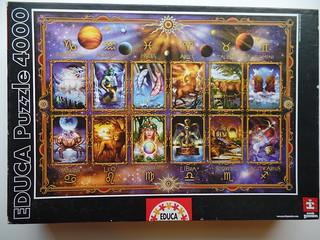 Zodiac, Ciro Marchetti, Educa, 4000 pieces