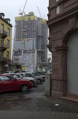 Europäische Zentralbank Frankfurt -hier noch im Bau (Speierling93) Tags: deutschland europäischezentralbank frankfurt germany