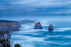 Twelve Apostles-1.jpg (mailrobertsev) Tags: princetown victoria australia au port campbell twelve apostles canon 6d seascape beach night slowshutter