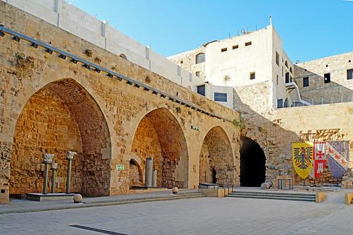 Israel-05095 - Crusader Courtyard