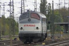 Nohab Strabag 2 (1227 007) in station van Emmerich 23-04-2017 (marcelwijers) Tags: nohab strabag 2 station van emmerich 23042017 1227 007 dsb my 1147 2598 1964