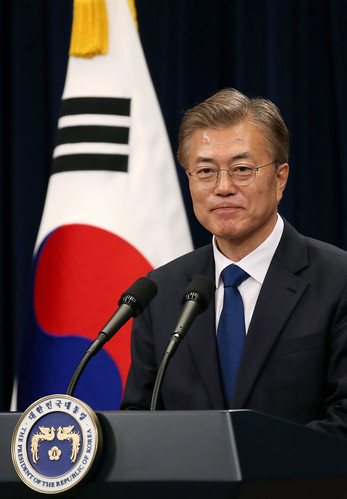 From flickr.com: President_Moon_Jae-in {MID-220830}