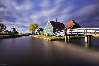 Drifting Clouds Over Zaanse Schans
