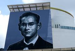 graffiti and streetart in bangkok (wojofoto) Tags: graffiti streetart bangkok thailand wojofoto wolfgangjosten king bhumibol