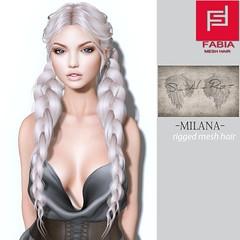 -FABIA- Mesh Hair   <Milana> (FABIA.HAIR) Tags: