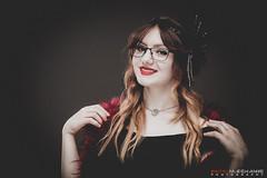 Misty La Malice (Digital-Mechanic.com) Tags: misty la malice portrait vintage flapper red hair