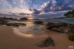 Ko'olina Sunset (davidgevert) Tags: nikond800 nikon1424mmf28 d800 landscape beach ultrawide seascape oahu hawaii koolina sunset beachsunset clouds sky ocean landscapephotography davidgevert gevertphotography