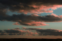 Dreamscape (Sofia Podestà) Tags: landscape nature sunset sky clouds pink dreamscape dream dreamy wide space outdoor travel summer dreaming sofiapodesta sofia podestà sofiapodestà iceland islanda natura infinity blue
