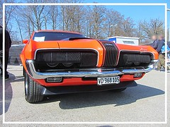 Mercury Cougar XR7, 1970 (v8dub) Tags: mercury cougar xr 7 1970 schweiz suisse switzerland fribourg freiburg otm american muscle pkw pony voiture car wagen worldcars auto automobile automotive old oldtimer oldcar klassik classic collector