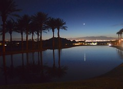 Las Vegas Another Angle of View 2 (ephraimrein) Tags: las vegas nevada beautiful lake palm moon crescent