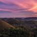 Chocolate Hills sunset