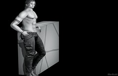➤ .LAVAROCK. - Bernie Pants (⌘ Alexul Danick ⌘ Blogger) Tags: sl secondlife slfashion slmenswear menswear menswearsl mesh marketplace pants jeans demin lavarock