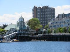 Seaplane pub (trilliumgirl) Tags: nanaimo waterfront bc british columbia canada vancouver island pub stilts walkway hotel buildings