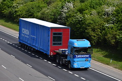 X6 LHH (markkirk85) Tags: lorries lorry truck trucks a1 motorway a1m alconbury daf xf leicester heavy haulage x6 lhh x6lhh