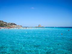 La Pelosa - Stintino [Explored 18/05/2017] (Valdy71) Tags: lapelosa stintino sardegna sardinia italy italia mare spiaggia beach sea valdy nikon water landscape panorama ngc
