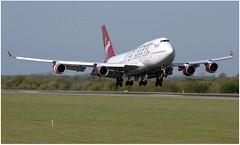 (Riik@mctr) Tags: manchester airport egcc gvbig airplane aircraft jet virgin atlantic boeing 747 msn 26255 tinker belle