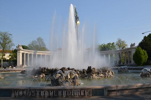 Vienne : Hochstrahlbrunnen