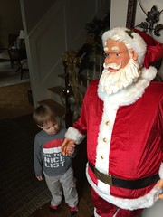 "Paul Plays with Santa at Grandma and Grandpa Miller's • <a style=""font-size:0.8em;"" href=""http://www.flickr.com/photos/109120354@N07/34341269401/"" target=""_blank"">View on Flickr</a>"