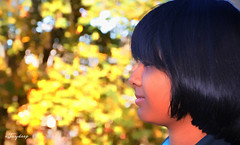 Portrait Photography in Autumn (iJoydeep) Tags: portraitphotography autumn nikon d7000 ijoydeep oslo norway visitoslo akerhus akerbrygge portrait model fashion bokeh