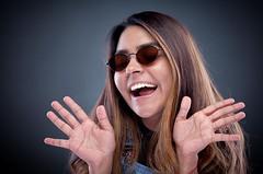 MARQUITA !!! (Laurence ) Tags: studio lighting alienbees ab800 ab400 portraiture girl woman female canon eos 5d mk2 sister aunt pose copyrightaledodge
