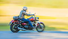 Speeding-along_DSC9211 (Mel Gray) Tags: slowshutterspeed blur motion motionblur movement motorbike wollombi newsouthwales hunterregion australia