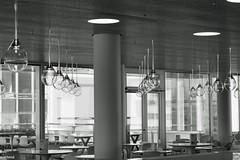 Lampenflucht (auschmid) Tags: auschmid slta99 sal85f14z basel sch roche bau1 kunstambau bw sw