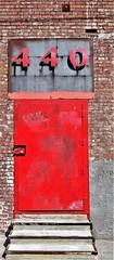 440 - Red Door ! (Joey Z1) Tags: number440 reddoor reddoorintheartsdistrict urbanscene laasseenbyjoeyz1 artsdistrictla downtownlosangeles dtla polychromatic bylaphotolaureatejoeyzanotti 440