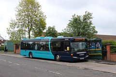 Arriva Midlands - YR58SRY, 3556 (M.R.P Photography) Tags: arriva arrivamidlands arrivaderby 3556 yr58sry scanian230ub arrivaconnectingderby scaniaomnicity